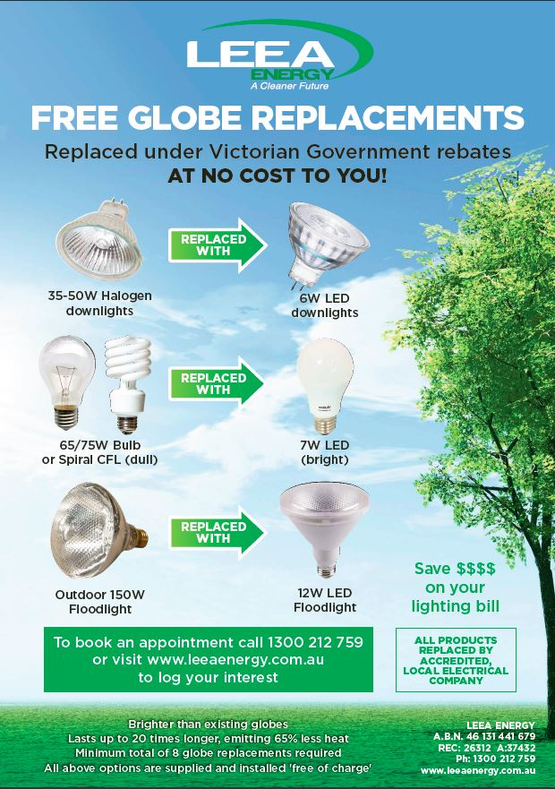 free globe replacements
